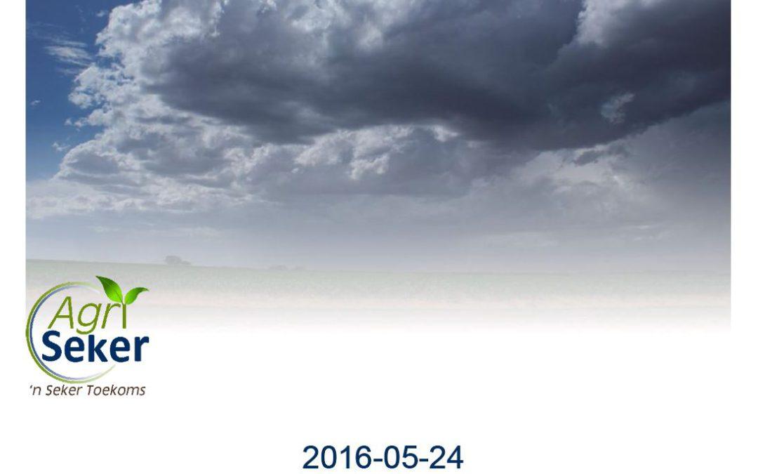 Agri Seker – `n Seker Toekoms Cumulus 2016-05-23