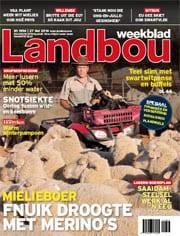 LBW, 27 Mei 2016 Landbou.com - Deur Jan Bezuidenhout