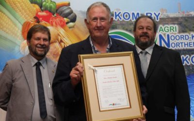 2016 Farmer of the Year – Piet Karsten AGRI Northern Cape Congress 2016