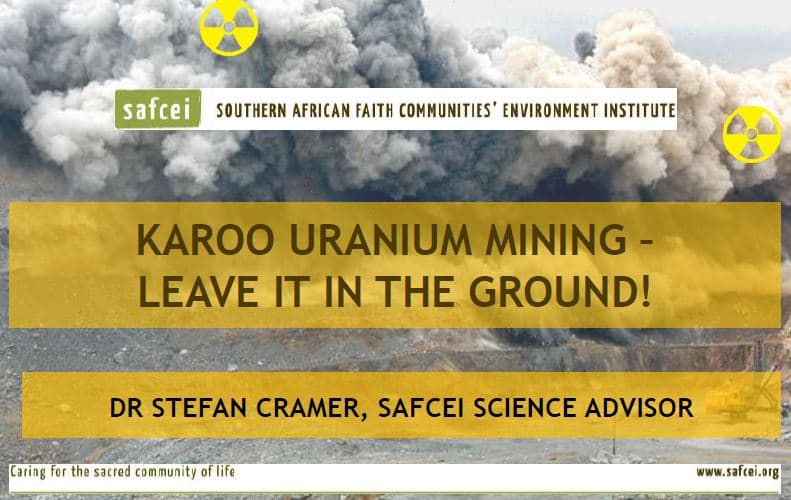 Uranium Mining in the Karoo