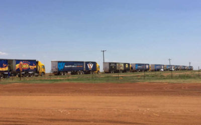 30-truck convoy delivers feed to drought-stricken farmers Farmer's Weekly - Sabrina Dean
