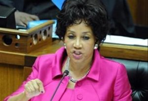 Lindiwe Sisulu, Minister of Human Settlement, Water and Sanitation